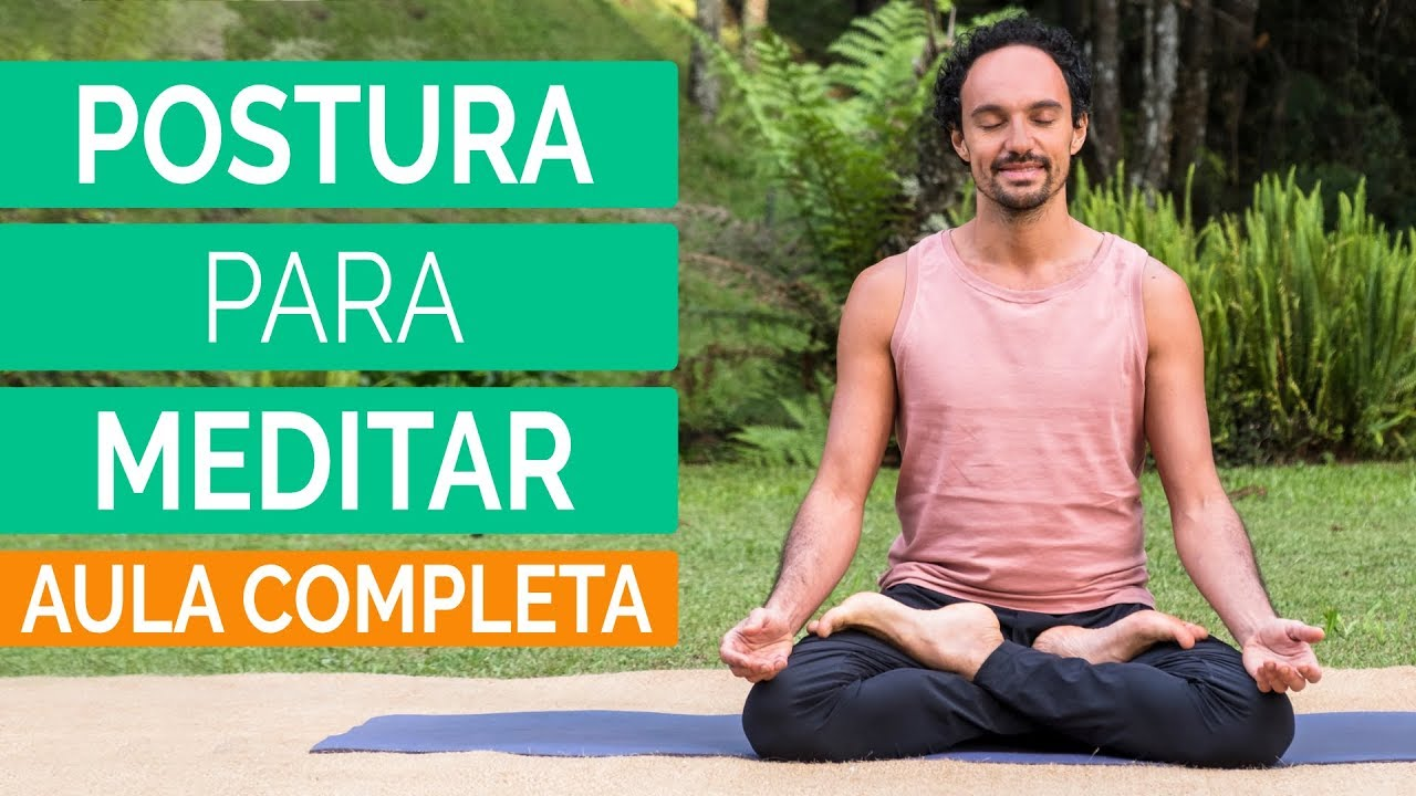Postura da meditação ou postura da lotus
