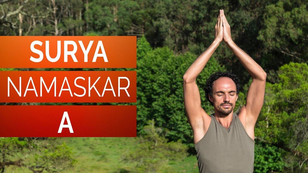 Saudação ao Sol A – Surya Namaskar A