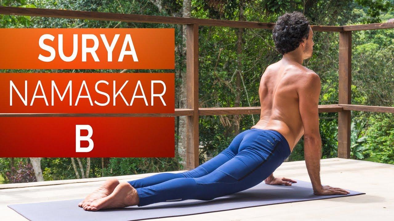 Saudação ao Sol B – Surya Namaskar B