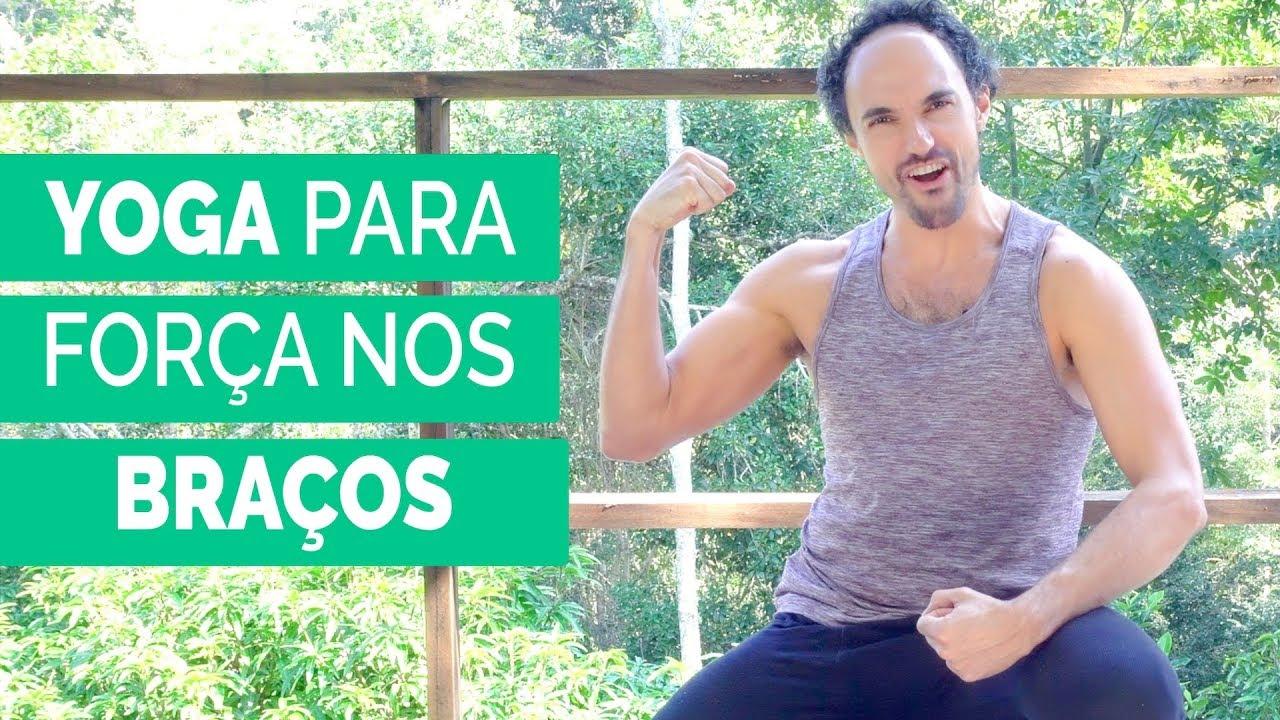 Yoga para Força nos Braços