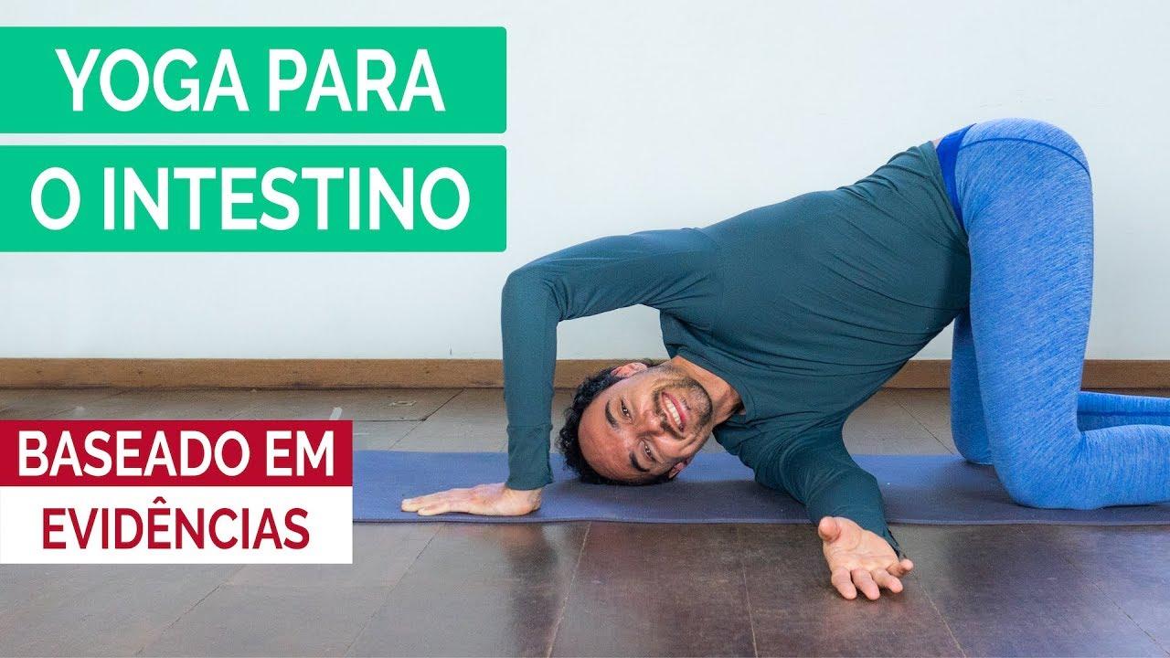 Yoga para intestino preso ou prisão de ventre