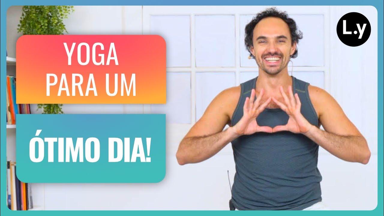 Yoga para um ótimo dia