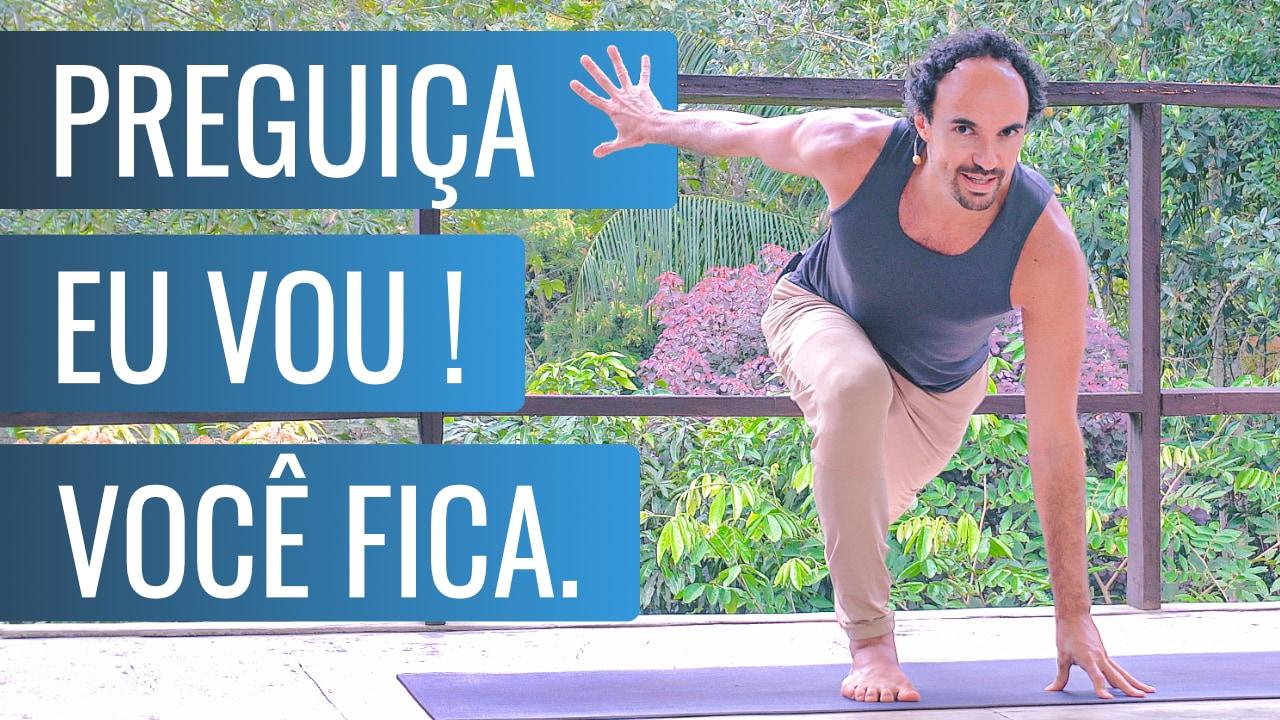 Yoga terapia para procrastinação e preguiça