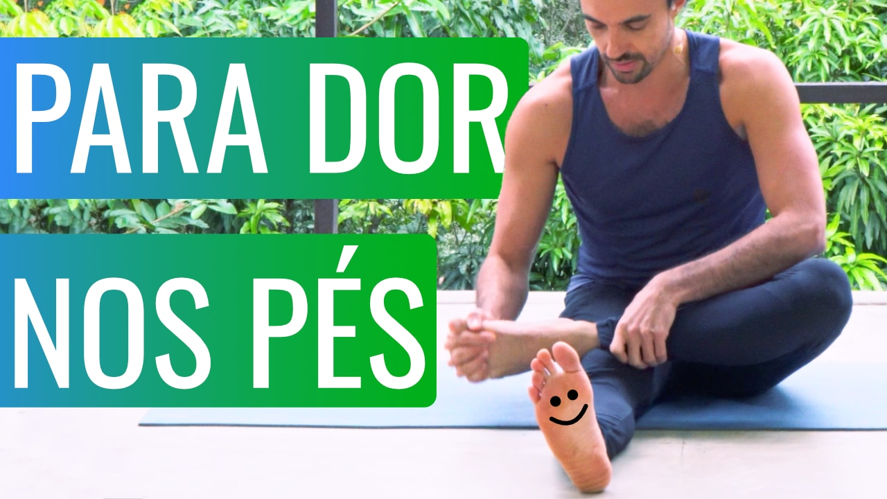 Yoga para dor nos pés